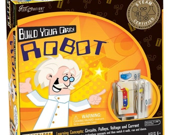 Build Your Own Robot - STEAM Science Kit - Kids Crafts (118375)