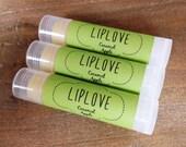 Lip Balm, Caramel Apple LipLove Natural Lip Balm