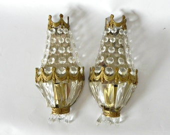 French vintage wall sconces wall lights Crystal wall sconces lighting