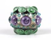 Handmade Lampwork Focal Glass Bead