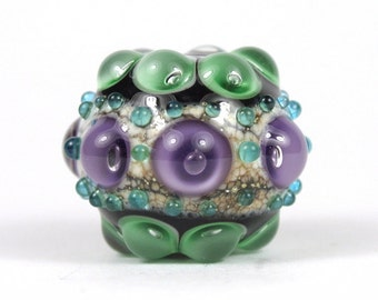 Handmade Lampwork Focal Glass Bead