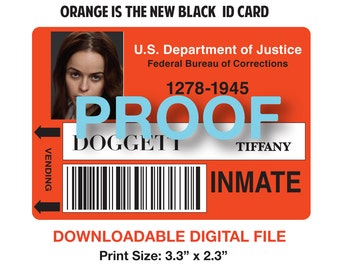 Orange Is The New Black Id Tag Tiffany Dogett Pictures to ...