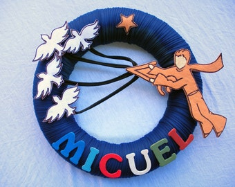 WREATH LE PETIT Prince  personalized wreath, little prince