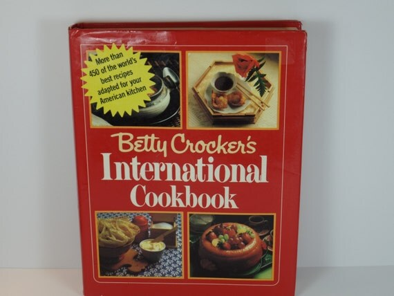 Vintage Cookbook: Betty Crocker's International Cookbook