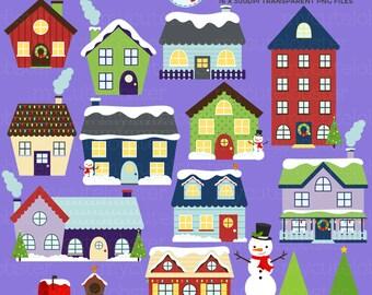 Christmas house | Etsy