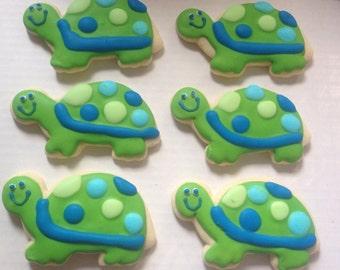 Turtle Sugar Cookies