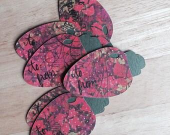 Christmas Bulb Tags Christmas Tags Gift Tags
