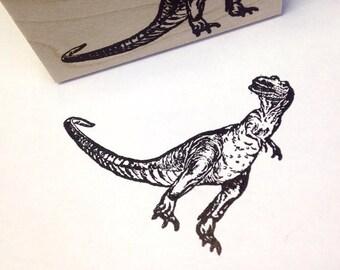 T Rex Dinosaur Wood Mounted Rubber Stamp 952