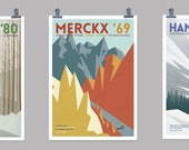 Cycling Art Prints - The Panache Collection (Full set of 3 Prints)