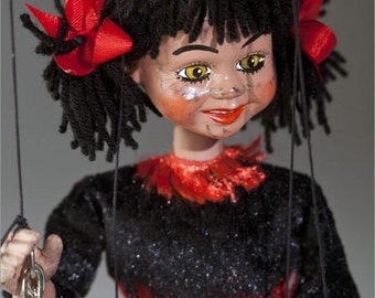 She is Devil Czech Marionette Puppet