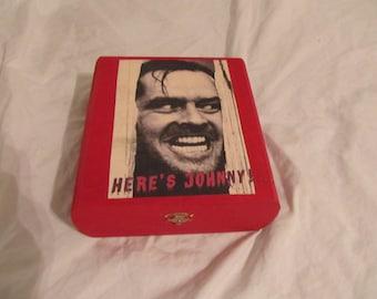 Here's Johnny The Shining Horror Keepsake Stash Box