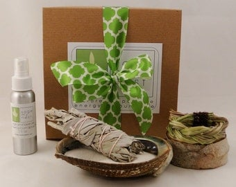 Wedding and Vow Renewal Ceremony Sage Blessing Kit - Sage Cleanse, Sage Smudge Kit For Wedding Blessing - Great Vow Renewal Idea!