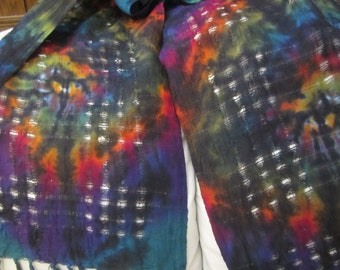 "Tie dye scarves- The perfect ""splash of color"" for your wardrobe, 350"