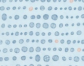 Doe Droplet in Sky, Carolyn Friedlander, Robert Kaufman Fabrics, 100% Cotton Fabric, AFR-15030-63 SKY