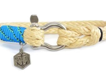 SALTI Men's Nautical Rope Bracelet 'BOWSPRIT' Worldwide FREE Shipping (12)