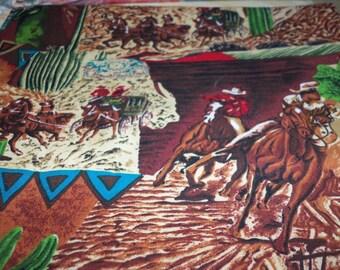 Old West Cowboy Fabric New BTFQ Fat Quarter