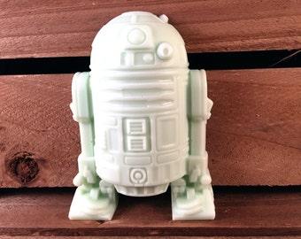 Soap: R2D2 Star Wars Robot Man Soap, You Choose Color & Scent