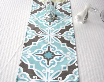 Table Runner, Available In Different Fabric and Length,  Harford Spirit Blue,Wedding Table Topper, Table Cover