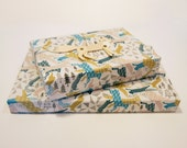 Leaping Animals Christmas Wrapping Paper