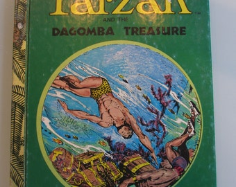 Vintage Tarzan Book Superscope Story Teller