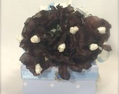 Jewelry Gift Box Baby Blue Gift Card Holder Pre-wrapped Gift Box Wedding Favor, Bridesmaid Gift  Tip Box, Elegant, Romantic, Rhinestone