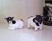 Dairy Cow Salt & Pepper Shakers
