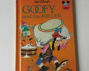 Goofy and the Miller Notebook - Handmade Disney baker Notebook