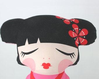 Hello Tokyo Plush Doll, Blossom