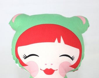 Hello Tokyo Plush Doll, Jade
