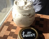 Body Butter + Scrub Duo for Southern Kitchen Beauty Box - Blended from Mango Butter and Argan Oil in Imported Italian Canning Jars