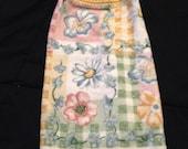Crochet Top Hand Towel-Flowers