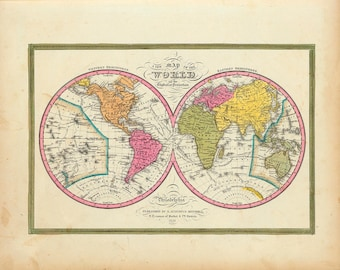 1846 Map of The World