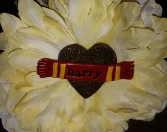 Harry Potter Hair Flower Clip ooak