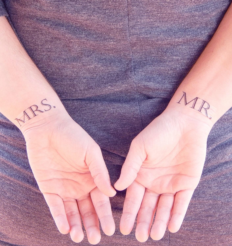 Luxury Male Wedding Ring Tattoos | Wedding