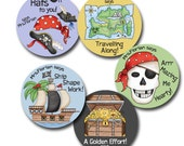 AHOY! Personalized stickers for Teachers