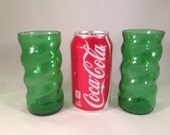 Squirt Recycled Bottle Glass - Set of 2