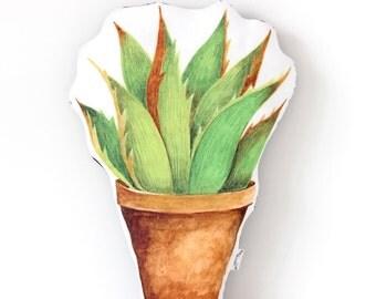 Cactus Cushion Big Leaves