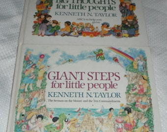 Big Thought for little People and Giant Steps for Little People 2 Kenneth N. Taylor Books