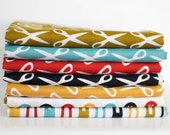 Mad Mend Organic Cotton Fabric Bundle -  Half Yard Bundle - 7 half yard pieces (B309)
