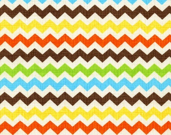 Zig - Fiesta Zig Zag Cotton Print Fabric from Timeless Treasures