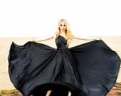 RESERVED RUSH for Jen- 1 Custom Infinity 3X Ballgown in Ocean Cielo