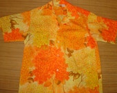 Mens Vintage 60s Tropicana Floral Surf Hawaiian Shirt - XL - The Hana Shirt Co