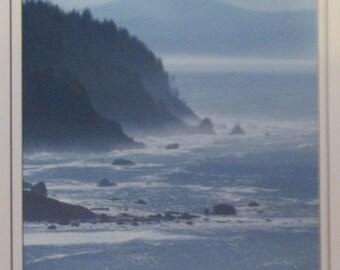 California, coastal photography, handmade card, original photography, FREE SHIPPING in U.S.