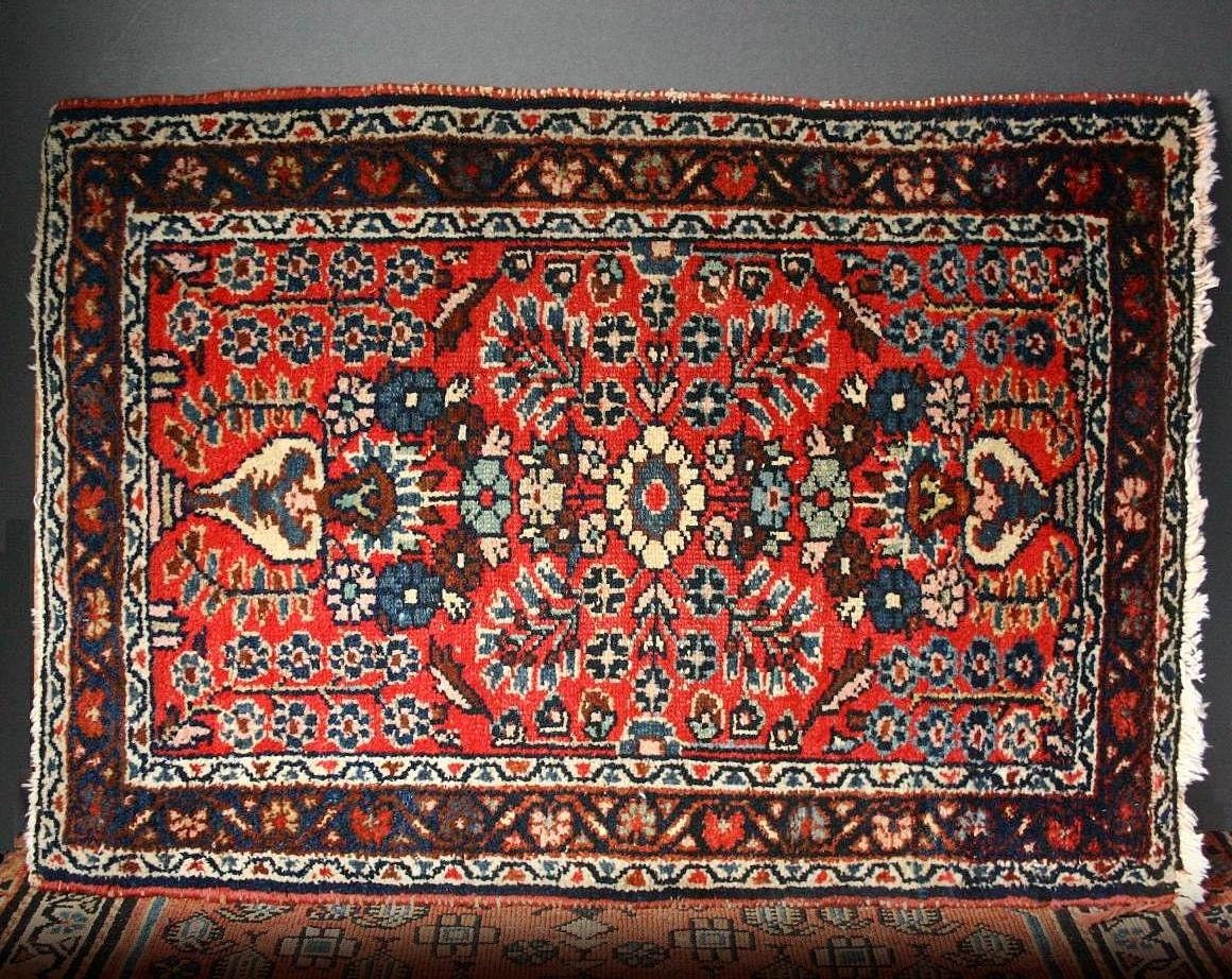 Persian Rug Middle Eastern Rug Floral Pattern Rug By