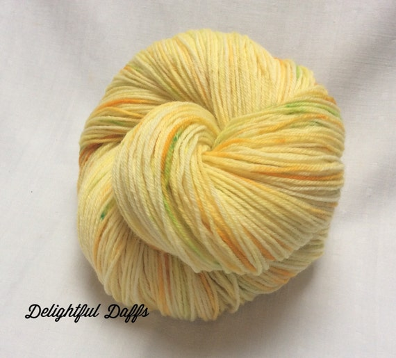 Hand dyed Variegated 4ply Knitting or by KnitwitOriginalsUK
