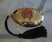 Vintage Valentino Garavani Gold Tone Metal Evening Purse FREE SHIPPING