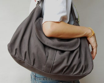 Big SALE - Fortuner - Grey, Laptop bag, Messenger Bag, Handbag, Diaper Bag, School Bag, Women, Canvas Messenger Bag, 40% OFF
