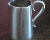 antique oh so small still and co silver plate ream jug