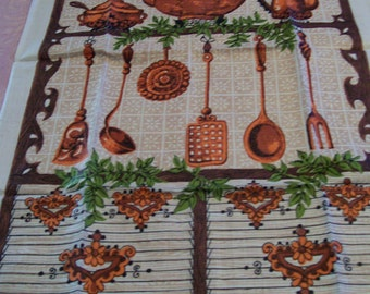 Linen Tea Towels Vintage Made in Poland Choice of 3