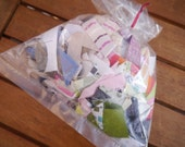 Tiny Scraps Bag Cotton Fabric Craft Card making bestsellers